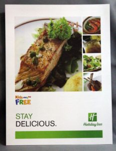 IHG Holiday Inn Kids Menu #vjgraphicsprinting #offsetprinting #menu #growthroughprint