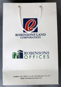 Robinsons Land Corporation Paper Bag