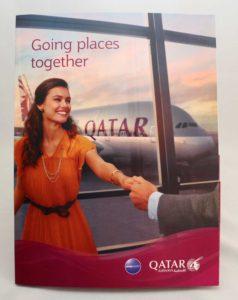 Qatar Airways Folder
