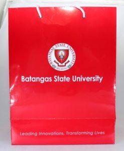 Batangas State University Paper Bag