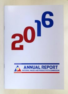 National Wages and Productivity Commission 2016 Annual Report #vjgraphicsoffsetprinting #vjgraphics #offsetprinting #growthroughprint #annualreport