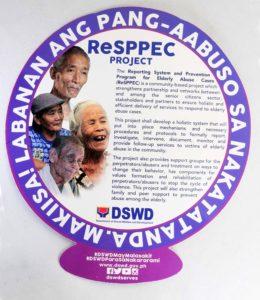 DSWD Paper Fan