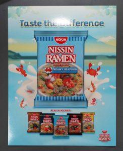 URC Nissin Ramen Trade Brochure