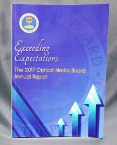 Optical Media Board 2017 Annual Report #vjgraphicsoffsetprinting #vjgraphics #offsetprinting #growthroughprint #annualreport