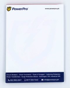 PowerPro Notepads #vjraphicsoffsetprinting #vjgraphics #offsetprinting #growthroughprint #notepad