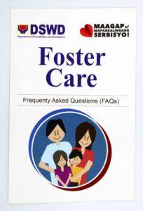 DSWD Foster Care FAQ Brochures #vjgraphicsoffsetprinting #vjgraphics #offsetprinting #growthroughprint #brochures