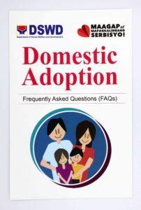 DSWD Domestic Adoption FAQ Brochures #vjgraphicsoffsetprinting #vjgraphics #offsetprinting #growthroughprint #brochures