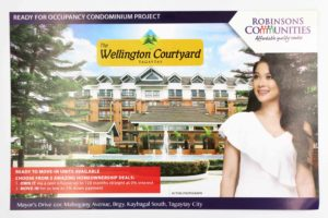 Robinsons Communities The Wellington Courtyard Flyers #vjgraphicsoffsetprinting #offsetprinting #vjgraphics #flyers
