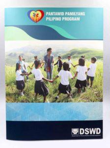 DSWD Pantawid Pamilyang Pilipino Program Folder #vjgraphicsoffsetprinting #vjgraphics #offsetprinting #growthroughprint #folder