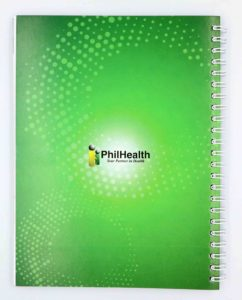 PhilHealth Notebook #vjgraphicsoffsetprinting #vjgraphics #offsetprinting #growthroughprint #notebook