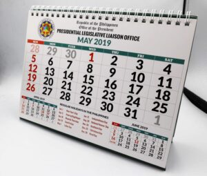 Presidential Legislative Liaison Office Desk Calendar #vjgraphicsprinting #vjgraphics #deskcalendar #calendar #growthroughprint #offsetprinting