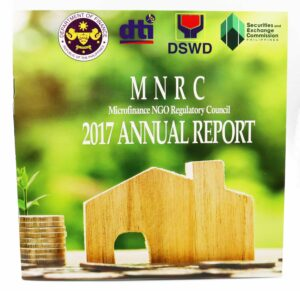 MicroFinance NGO Regulatory Council Annual Report #vjgraphicsprinting #growthroughprint #offsetprint #printing #annualreport — with dti.philippines, Department of Finance, DTI Philippines and Department of Social Welfare and Development.
