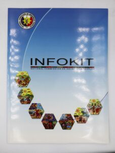National Commission on Indigenous People Info Kit Folder and Inserts #vjgraphicsoffsetprinting #vjgraphics #offsetprinting #folder #growthroughprint