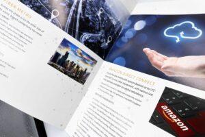 IXS Brochure #vjgraphicsprinting #vjgraphics #offsetprinting #brochure #growthroughprint — with IXS.ph and IXSforall.