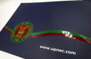 University of the Philippines Diliman National Engineering Center Folder #vjgraphicsprinting #offsetprinting #vjgraphics #folder #growthroughprint — with UP National Engineering Center and UP National Engineering Center.