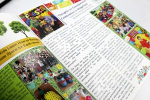 PAREF Ridgefield School Newsletter #vjgraphicsprinting #digitalprinting #newsletter #growthroughprint — with PAREF Preschool Ridgefield Hillsborough