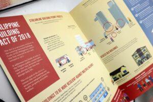 PHIVOLCS New Building Act Brochure #vjgraphicsprinting #vjgraphics #brochure #offsetprinting #growthroughprint