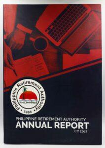 Philippine Retirement Authority Annual Report 2017 #vjgraphicsprinting #vjgraphics #offsetprinting #growthroughprint #annualreport