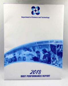DOST Performance Report #vjgraphicsprinting #offsetprinting #annualreport #growthroughprint