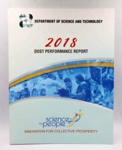 DOST Performance Report #vjgraphicsprinting #offsetprinting #annualreport #growthroughprint