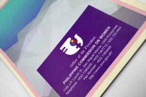 Philippine Commission on Women Handbook #vjgraphicsprinting #offsetprinting #handbook #growthroughprint — with Philippine Commission on Women