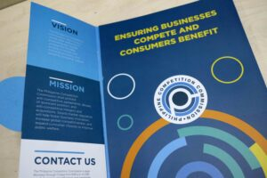 Philippine Competition Commission Folder Brochure #vjgraphicsprinting #folder #brochure #growthroughprint #offsetprinting — with Philippine Competition Commission