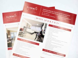 Summit Hotels Magnolia Tagaytay Brochure #vjgraphicsprinting #offsetprinting #growthroughprint #brochure — with Summit Hotels and Resorts, Summit Hotels and Resorts and Summit Hotels and Resorts.