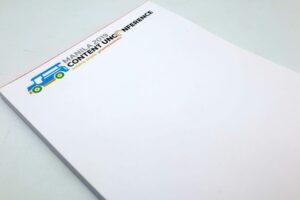 Thomson Reuters Notepad #vjgraphicsprinting #offsetprinting #growthroughprint #notepads