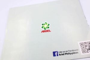 Ariel Philippines Sampling Flyers #vjgraphicsprinting #offsetprinting #flyers #samplinginserts #samplingflyers #growthroughprint — with Ariel Philippines