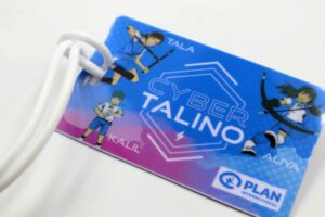 Plan International Philippines Cyber Talino Bag Tags #vjgraphicsprinting #growthroughprint #digitalprinting #bagtag — with Plan International, Plan International Asia and Plan International Philippines