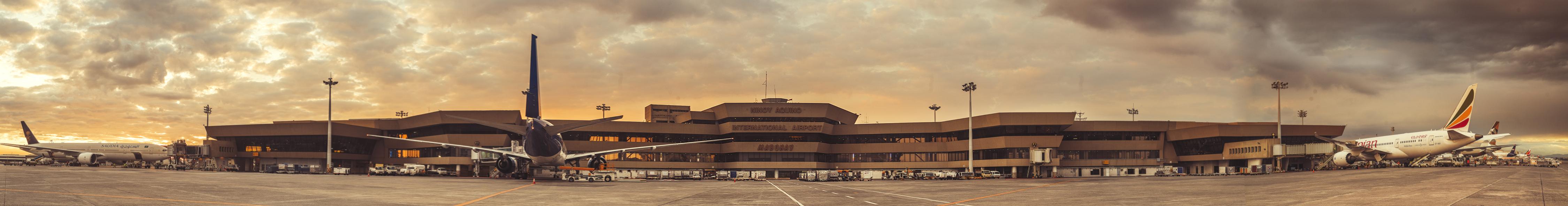 Manila International Airport Landscape #vjgraphicsprinting #growthroughprint #MIAA #photoshoot