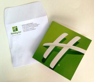 Holiday Inn Invitation #vjgraphicsprinting #growthroughprint #invitations #offsetprinting