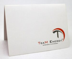 Team Energy Greeting Cards #vjgraphicsprinting #growthroughprint #invitations #offsetprinting
