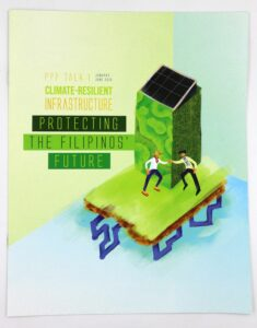 Public-Private Partnership Center Climate-Resilient Infrastructure Booklet #vjgraphicsprinting #offsetprinting #growthroughprint #booklet — with Public Private Partnership Center