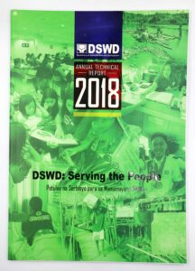 DSWD Annual Technical Report 2018 #vjgraphicsprinting #offsetprinting #growthroughprint #technicalreport — with DSWD Swadcap, Department of Social Welfare and Development, DSWD Kalahi-CIDSS, DSWD Field Office Mimaropa, DSWD NCR, DSWD, DSWD Region IV-A and Dswd