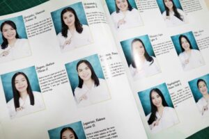 St. Paul University Quezon City The Paulinians Yearbook #vjgraphicsprinting #offsetprinting #growthroughprint #digitalprinting #yearbook — with St. Paul University Quezon City