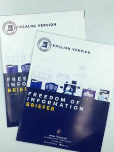 Freedom of Information Brochures #vjgraphicsprinting #growthroughprint #offsetprinting #brochures — with FOI Philippines in Quezon City, Philippines