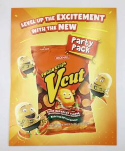 URC Jack 'n Jill VCut Potato Chips Trade Brochure Sales Kit #vjgraphicsprinting #digitalprinting #tradebrochure #saleskit #growthroughprint — with VCUT and Jack 'n Jill Potato Chips.