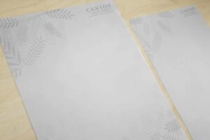 Canyon Hotels and Resorts Letterhead #vjgraphicsprinting #growthroughprint #letterhead #offsetprinting