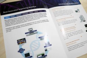 PerkinElmer Brochure #vjgraphicsprinting #growthroughprint #brochures #offsetprinting