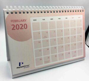 PerkinElmer Desk Calendar #vjgraphicsprinting #growthroughprint #offsetprinting #deskcalendar