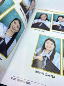 St. Paul University Manila Graduate School Yearbook #vjgraphicsprinting #growthroughprint #yearbook #offsetprinting #digitalprinting — with St. Paul University Manila in Quezon City, Philippines