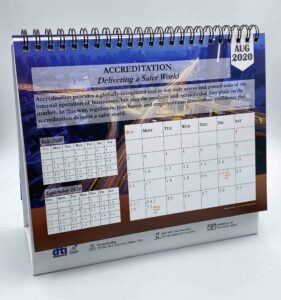 DTI Philippine Accreditation Bureau Desk Calendar #vjgraphicsprinting #offsetprinting #digitalprinting #deskcalendar #growthroughprint — with Department of Trade and Industry Nueva Vizcaya Provincial Office and DTI Philippines in Quezon City, Philippines