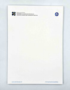 DOST Advanced Science and Technology Institute Notepad #vjgraphicsprinting #growthroughprint #offsetprinting #digitalprinting #notepad — with DOST-Advanced Science and Technology Institute
