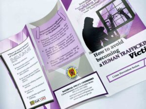 National Police Commission How to Avoid Becoming A Human Trafficking Victim #vjgraphicsprinting #offsetprinting #growthroughprint #digitalprinting #flyers