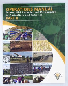 Department of Agriculture Operations Manual Part II Disaster Risk Reduction and Management in Agriculture and Fisheries #vjgraphicsprinting #growthroughprint #manual #operationsmanual #offsetprinting #digitalprinting — with Department of Agriculture