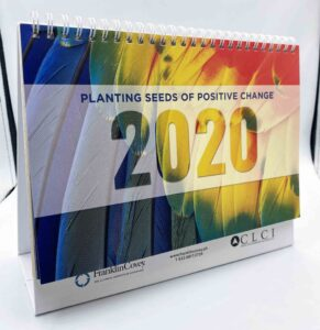 Center for Leadership and Change, Inc. Desk Calendar #vjgraphicsprinting #offsetprinting #growthroughprint #digitalprinting #deskcalendar #calendar — with FranklinCovey and Center For Leadership And Change