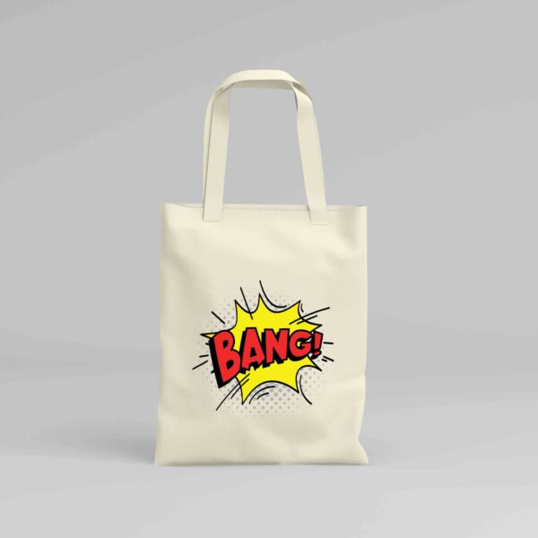 Canvas Tote Bag Bang!
