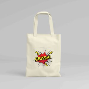 Canvas Tote Bag Crash!