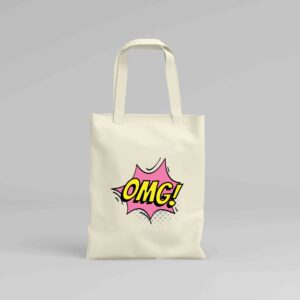 Canvas Tote Bag OMG!